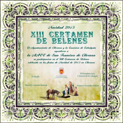 2015-XIII-Certamen-de-Belenes-Diploma